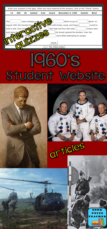 Great website where students can learn about the 1960's.