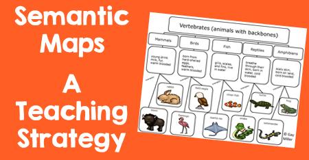 Semantic Maps - A Teaching Strategy