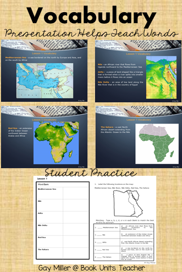 Ancient Egypt Unit for Upper Elementary Students - Try it out with a free sample of Lesson 1.