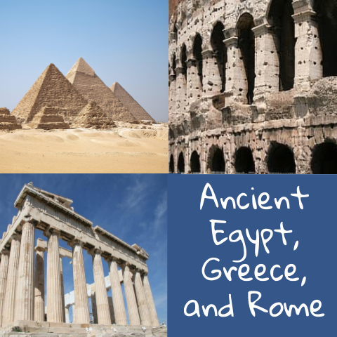 Ancient Egypt, Greece, and Rome Unit Samples