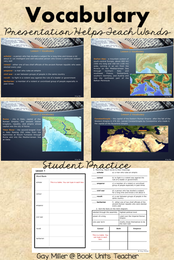 Ancient Rome Unit for Upper Elementary Students - Try it out with a free sample of Lesson 1.