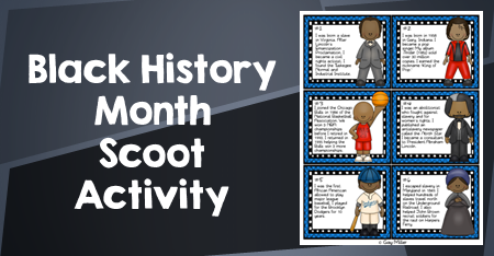 Black History Month Activity - Scoot