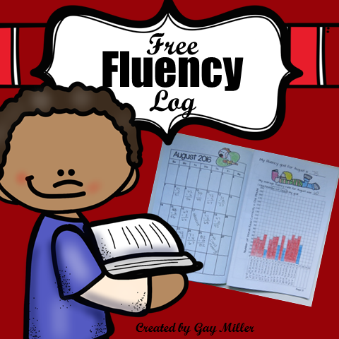 This free printable booklet helps students set fluency goals and track their daily rates for the entire school year.