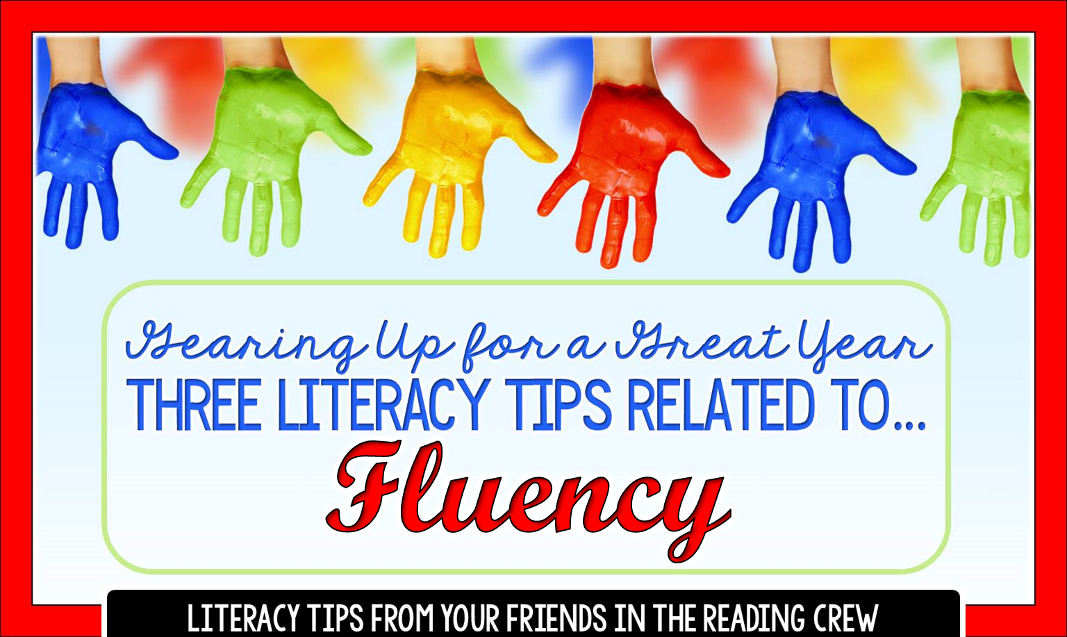 Read three fluency tips. Then grab a free printable booklet that helps students set fluency goals and track their daily rates for the entire school year.