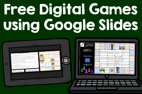Free Digital Games using Google Slides