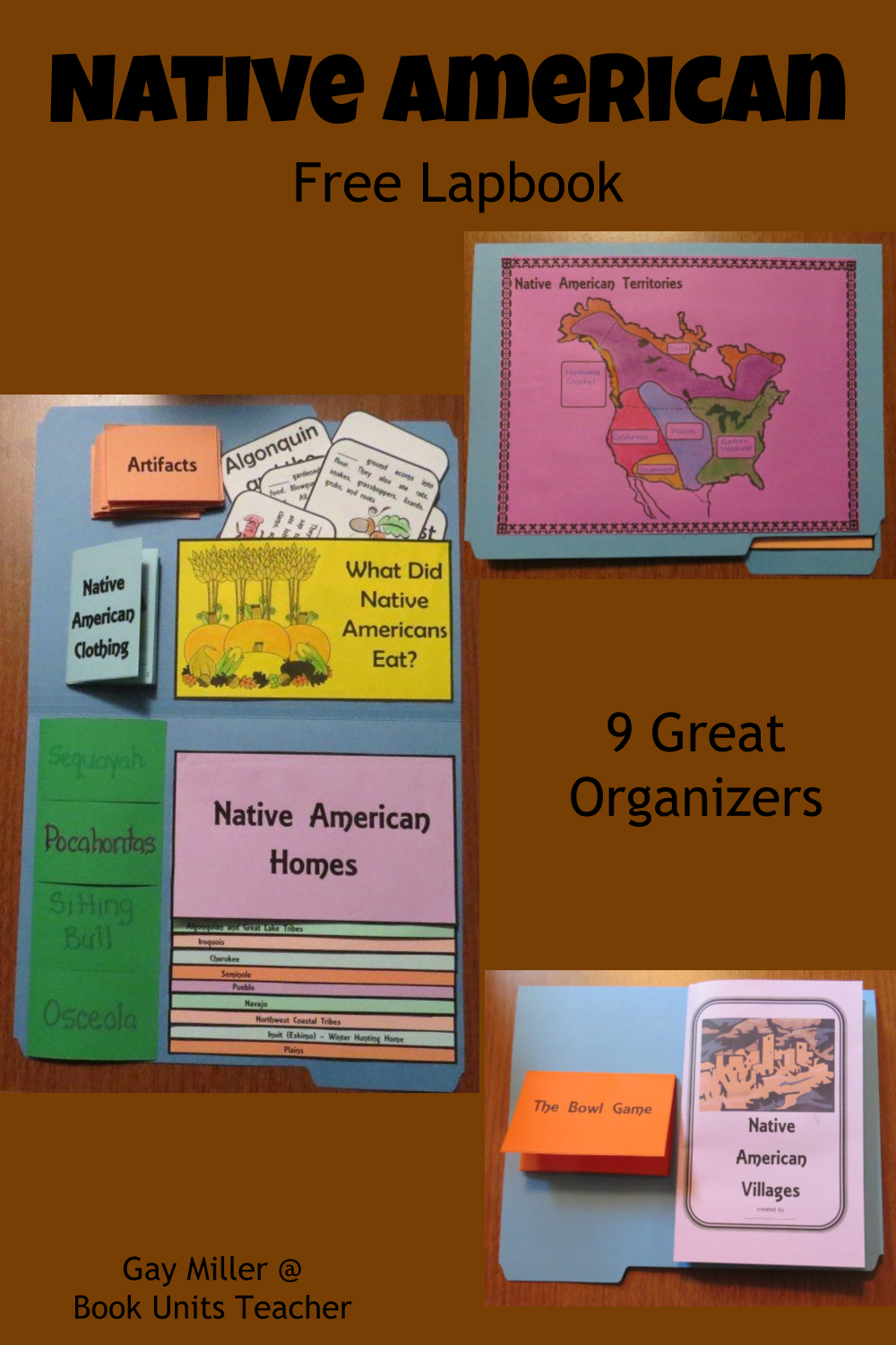 Free Native American Lapbook for Students