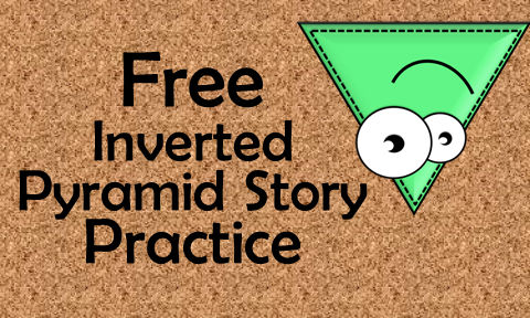 Teach students how to writing inverted pyramid stories with these free printables.