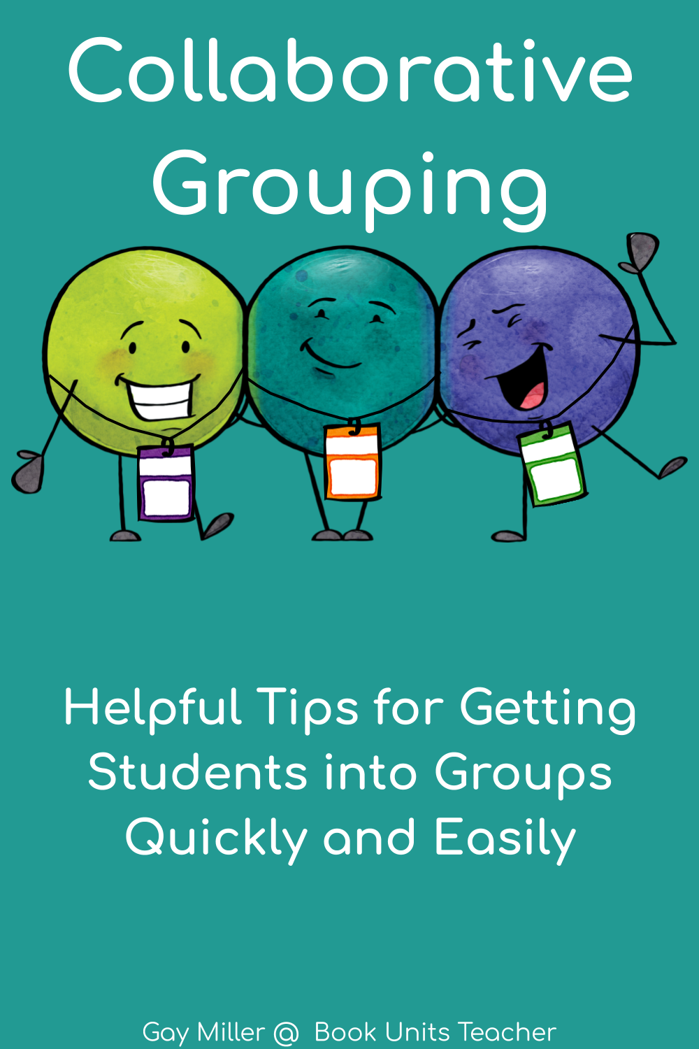 With just a few minutes of work at the beginning of the year, your students will move into collaborate groups quickly and easily.