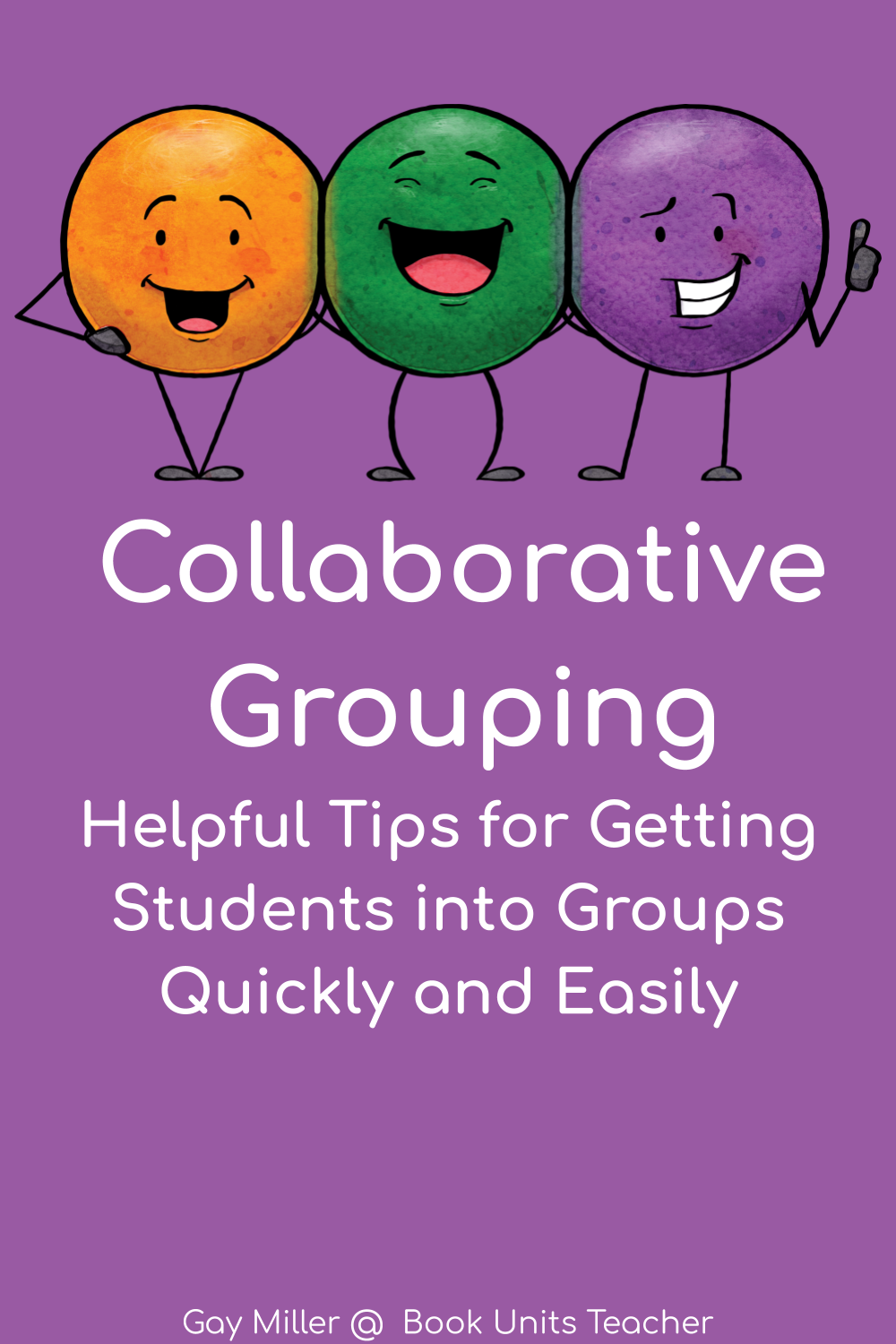 Learn a quick easy way to place students into collaborative groups.