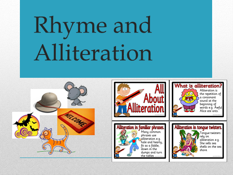 Rhyme and Alliteration PowerPoint