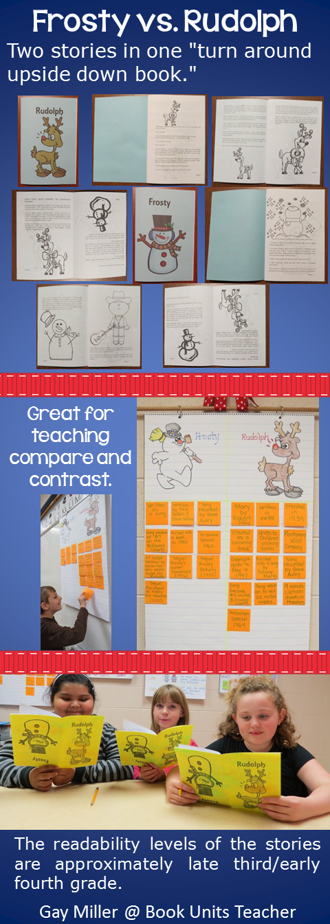 Free Compare and Contrast Christmas uses the high interest stories of