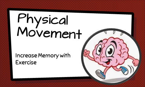 Physical Movement While Learning and Memorizing