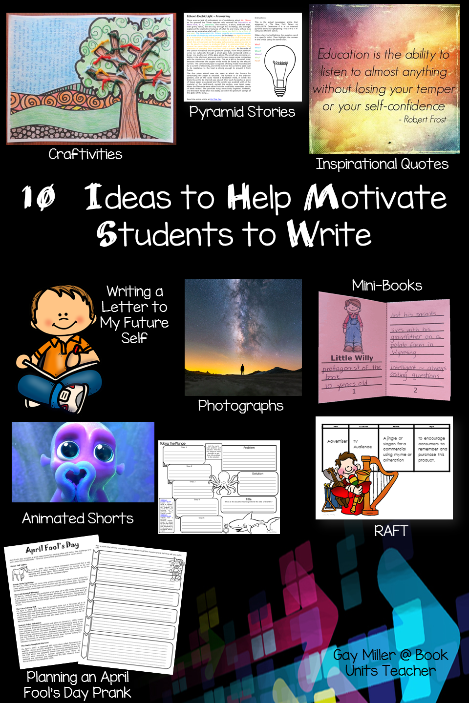 Ideas for Motivating Upper Elementary Students to Write
