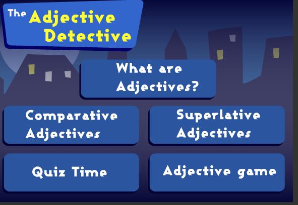 Online Game Adjective Dectective