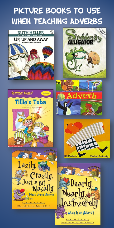 Picture Books to Teach Adverbs