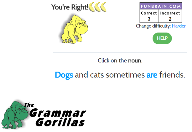 The Grammar Gorillas