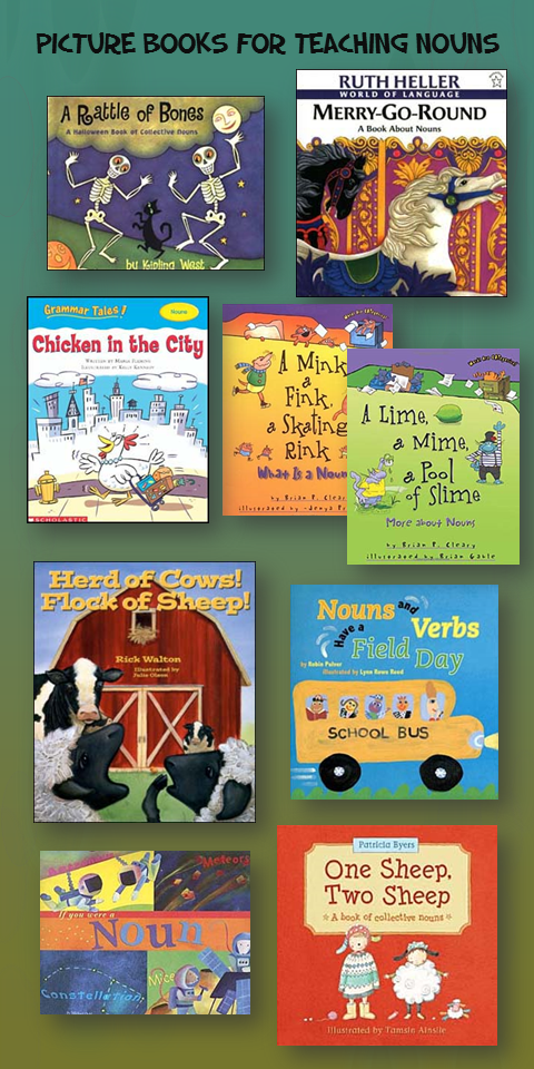 Picture books for Teaching Nouns