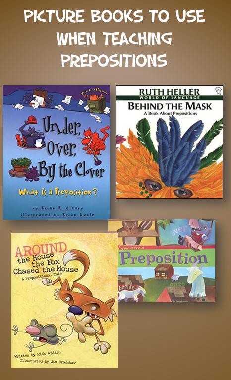 Picture Books for Teachign Prepositions