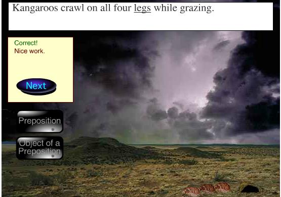 Online Game Preposition Desert