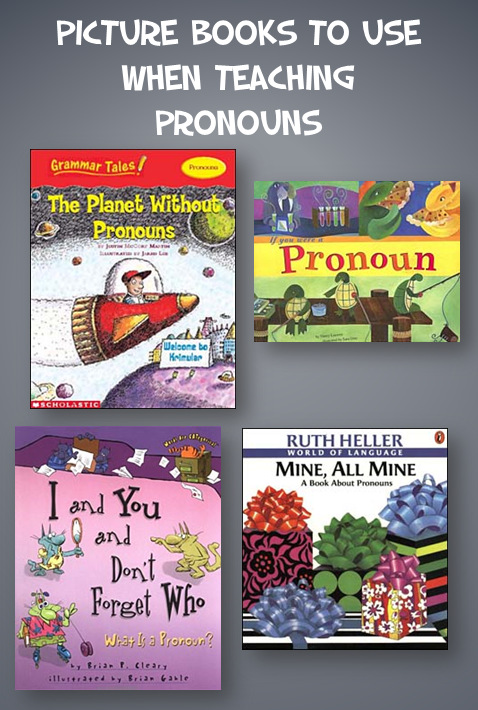 Using Picture Books to Teach Pronouns