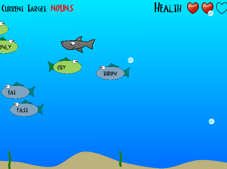 online Game Word Shark