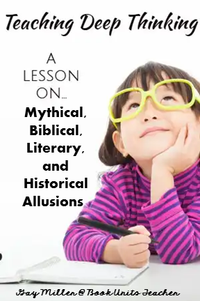 Free Digital + Printable Lesson on Mythical, Biblical, Literary, and Historical Allusions