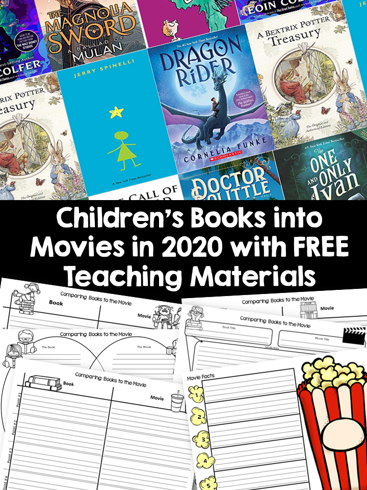 Take advantage of this high interest moment by teaching a few skills connected with the film Dolittle. These free activities use Google Slides.