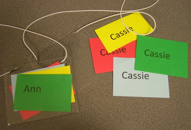 Collaborative Groups - Name Tags