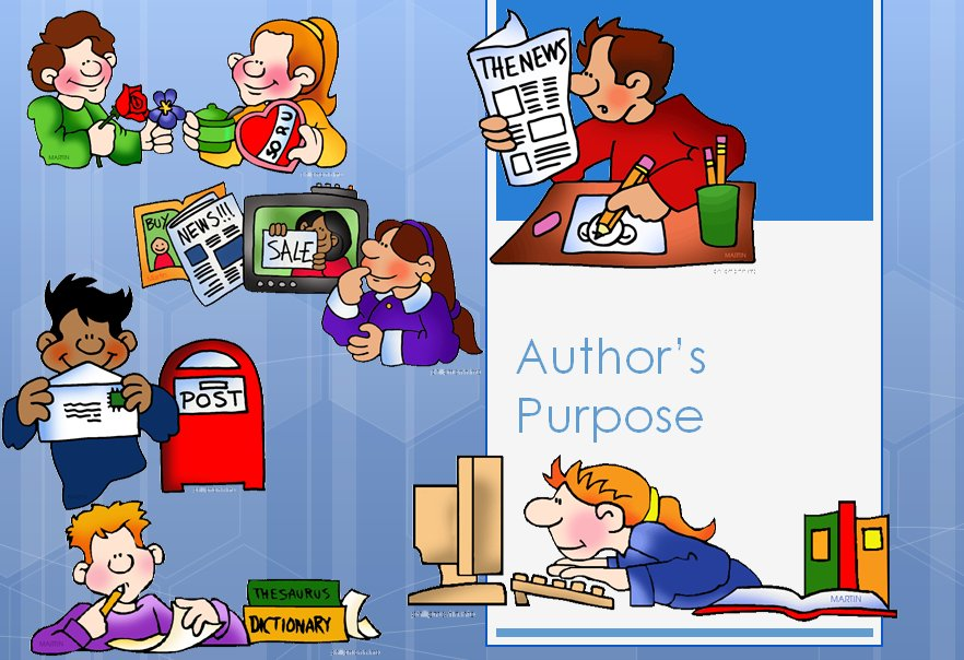 Author's Purpose PowerPoint