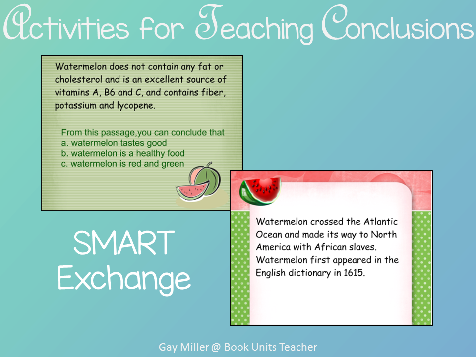 Ideas for Teaching Students