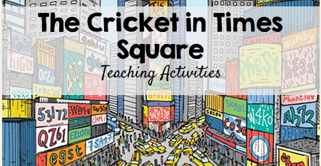 The Cricket in Times Square Teaching Activities