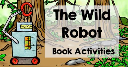 The Wild Robot Writing Activities