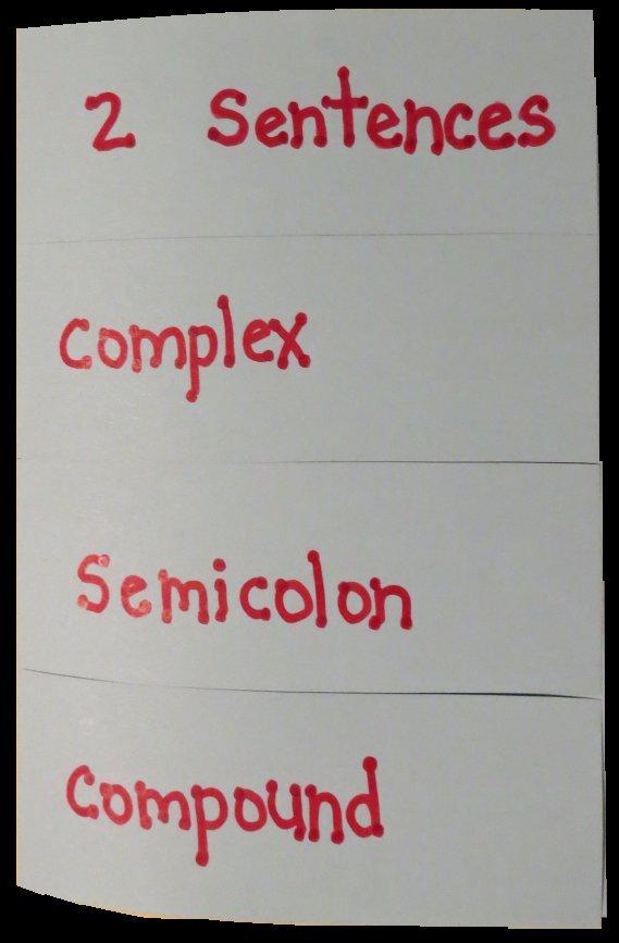 Free Graphic Organizer Teaching Four Methods for Correcting Run-On Sentences
