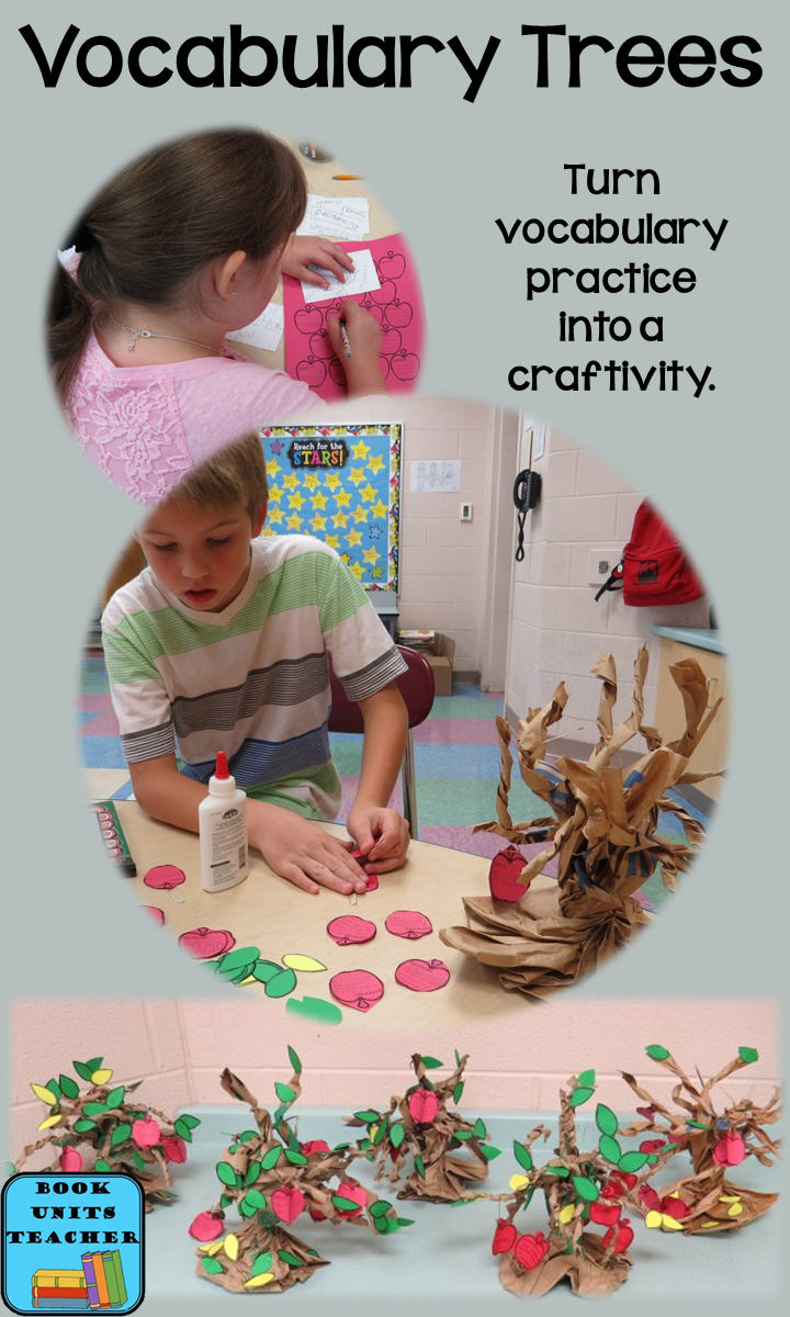 Vocabulary Tree ~ Instructions and FREE Printables