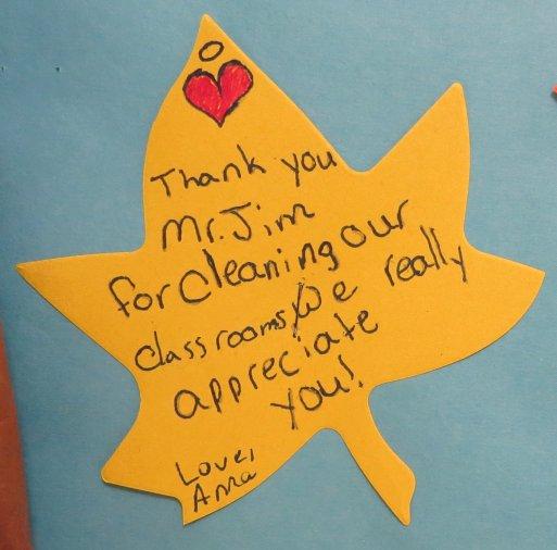 We Appreciate Our Custodians.