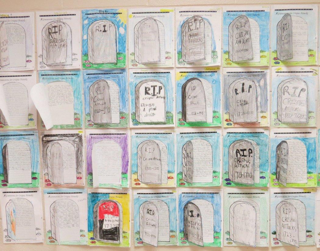 A Gravestone for Crispus Attucks
