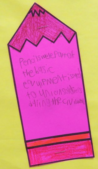 Pencil Facts Bulletin Board