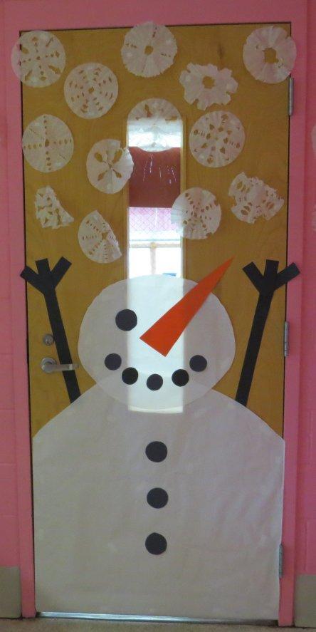 Snowman Door Competition