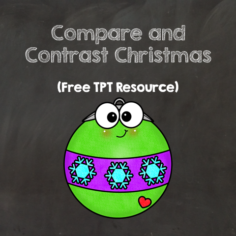 Free Compare and Contrast Christmas