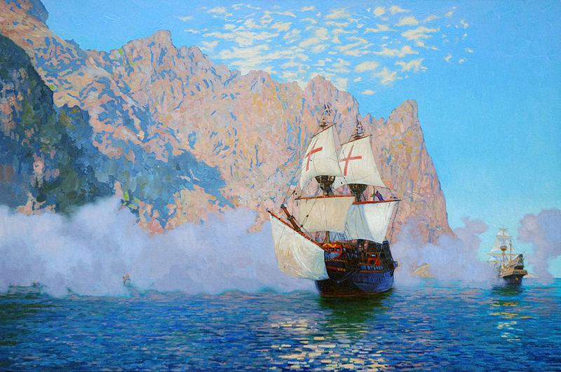 The Golden Hinde, John Cabot's Ship