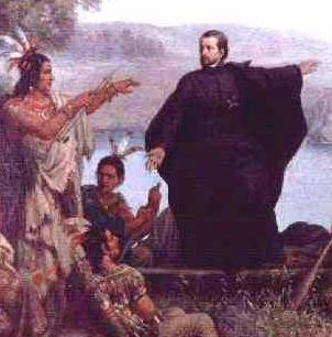 Father Marquette and Louis Joliet