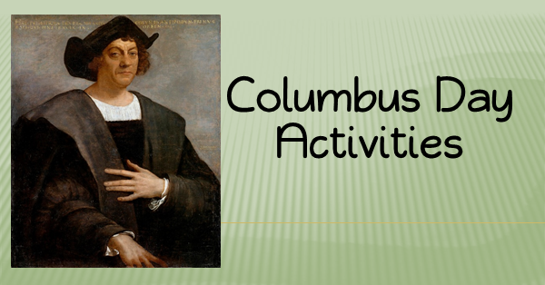 Activities to do on Columbus Day