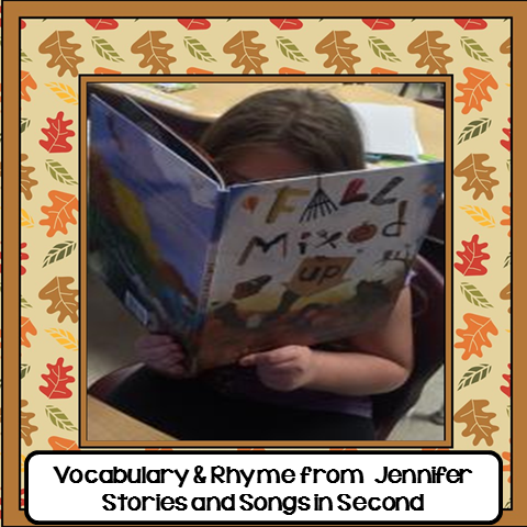 Vocabulary & Rhyme from Jennifer