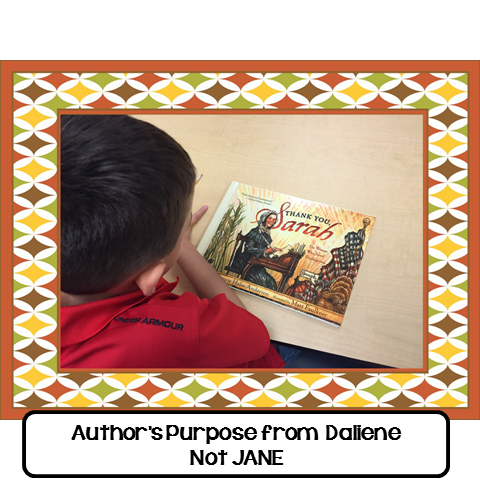 Author's Purpose from Daliene