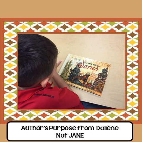 Author's Purpose from Dailiene
