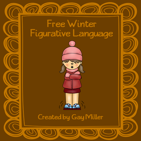 Free Winter Figurative Language