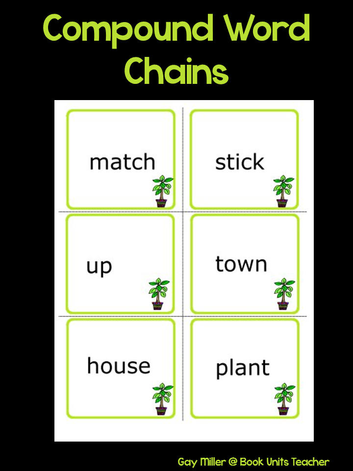 Compound Word Chains Activity