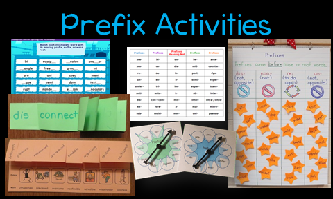 Games, Anchor Charts, Foldable Organizers and More to Teach Prefixes