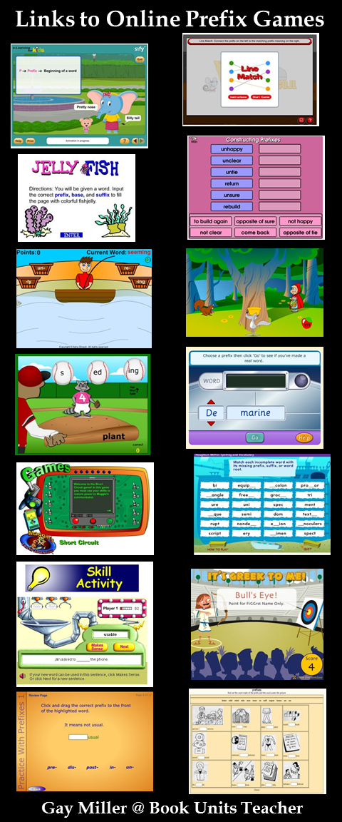Activities and Ideas to Teach Prefixes - includes free printables