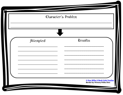 Teaching character traits with graphic organizers book units teacher free printable character chart ccuart Images